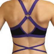 BUTTERFLY-POLEFIT-TOP-Black-Purple-back