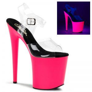 FLAMINGO-neon-pink-8inch