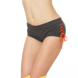 Shorts-Ellena-grey-orange