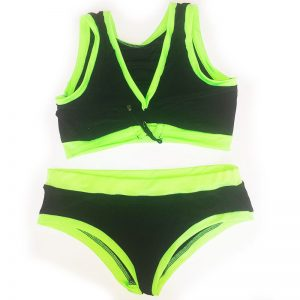 black-green-set