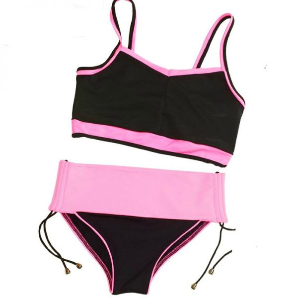 black-pink-set