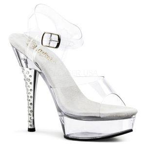 נעלי עקב שקופות