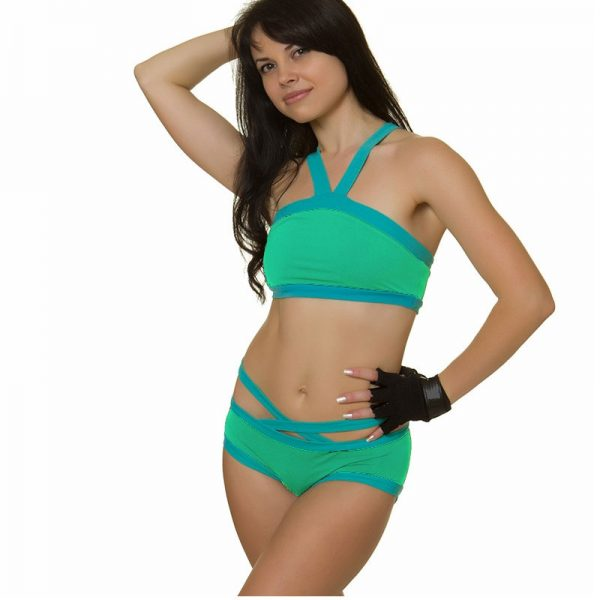 Mint-Turquoise--top